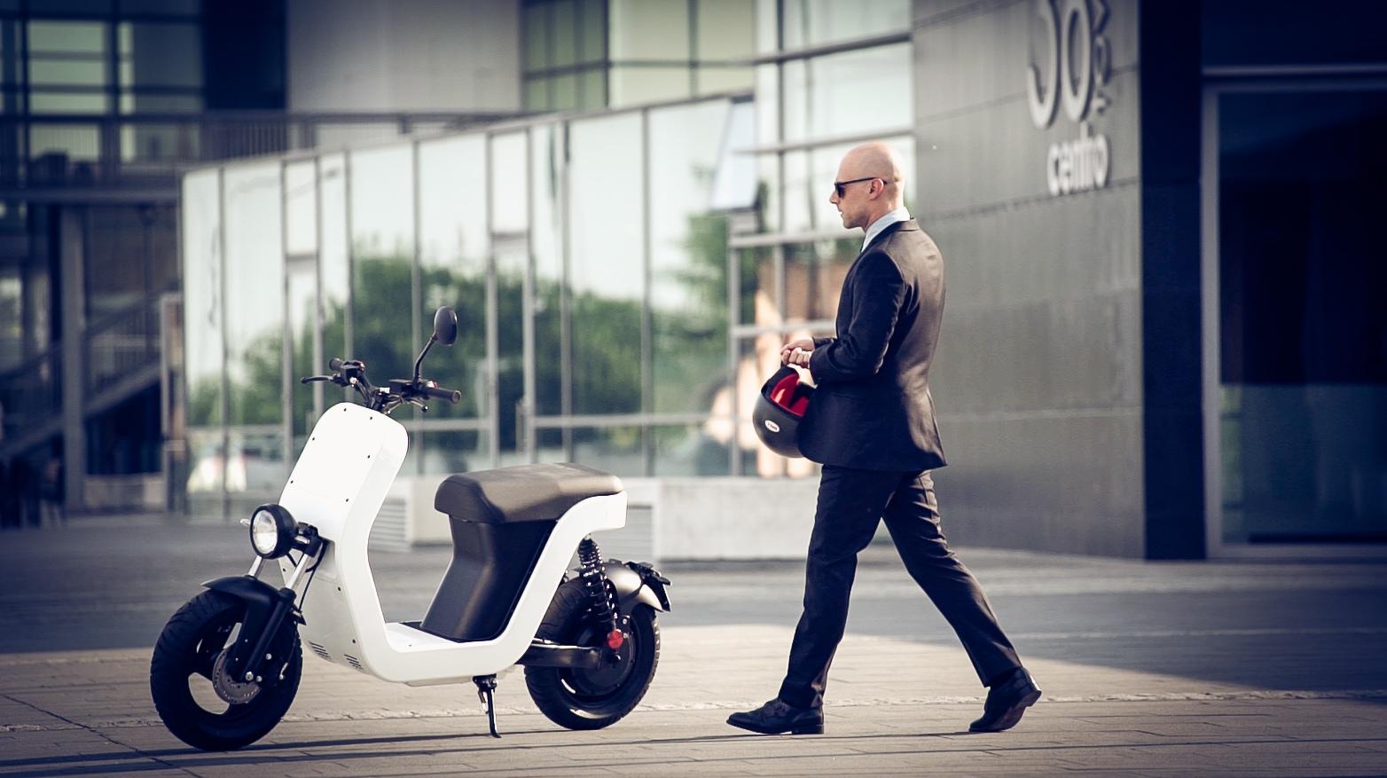 Me Scooter in città