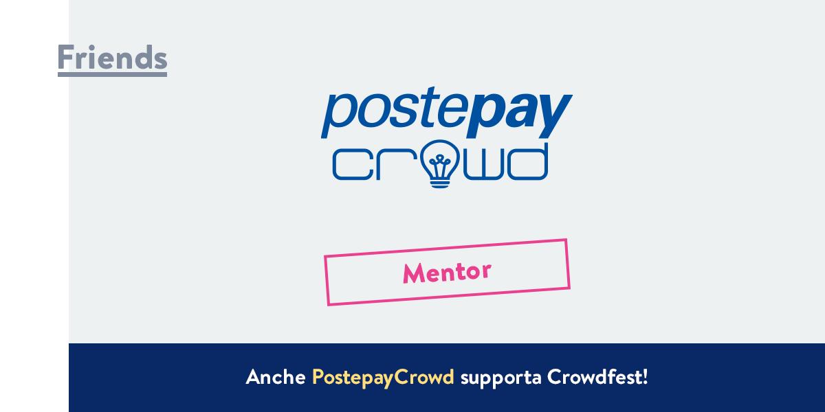PostepayCrowd - Mentor Crowdfest 2016
