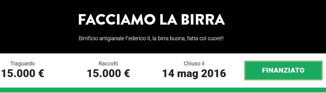 birrificio federico 2° - great