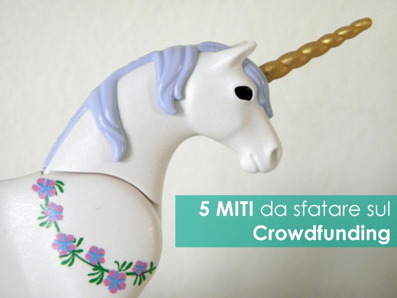 5 miti da sfatare sul crowdfunding