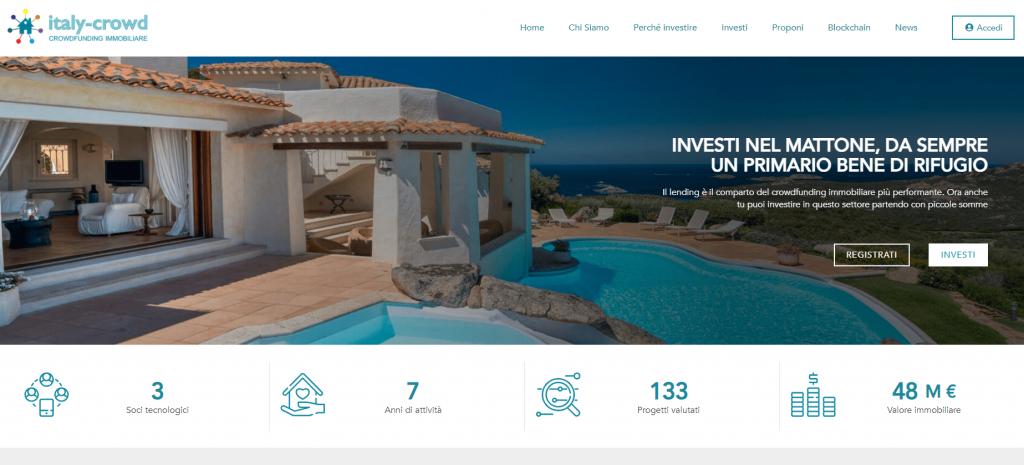 investimenti immobiliare ITALY-CROWD